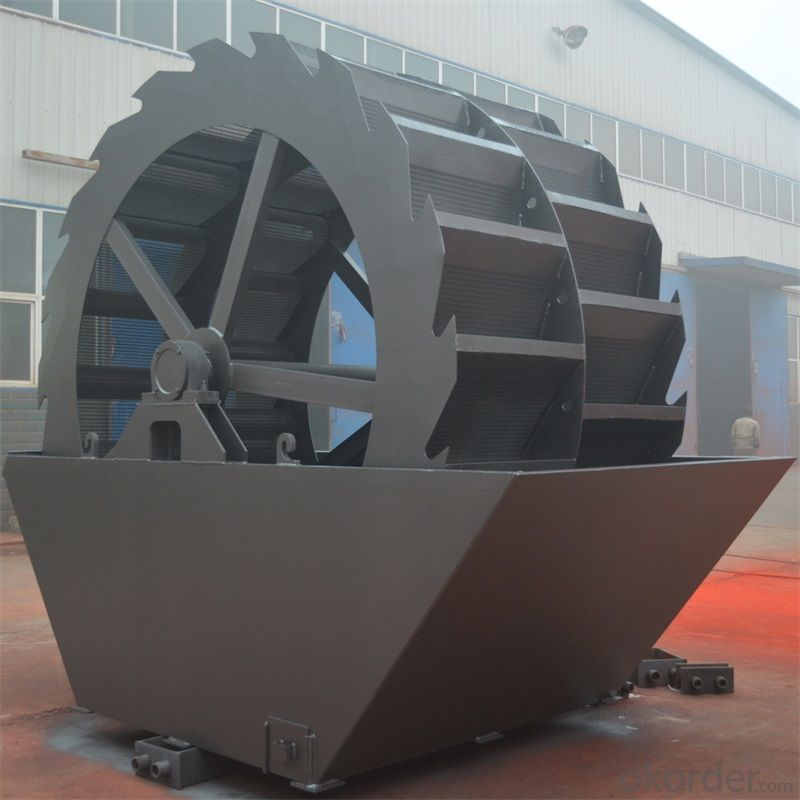 Sand washing machine|Wheel Dou type sand washer|Sand washing machine