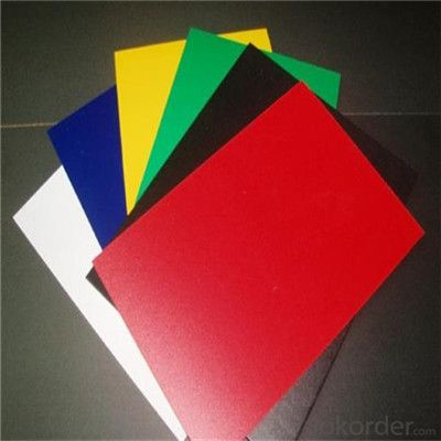 PVC Foam Board 5mm Color embossed for Pop-up