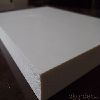 1220X2440MM White WPC / PVC Foam Board with High Surface Density