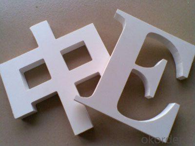 High rigid 9mm pvc foam board 0.5g/cm3 for printing and decoration