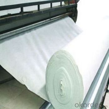 PET  Staple Fiber Nonwoven Geotextile Fabric for Construction