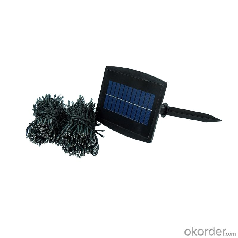 Lovely Brilliant Solar String Light UL Listed for Decor