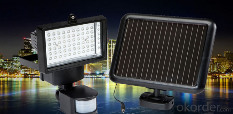 48 LED Solar Garden Light High Brightness 960 Lumen Solar Flood Light