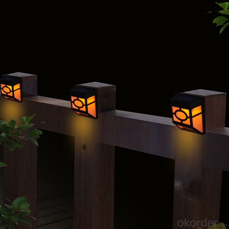 Special Designed Led Solar Fence Light Outdoor Garden Fence Lamp