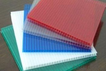 Polycarbonate Hollow Sheet Light Transmission Up to 88%