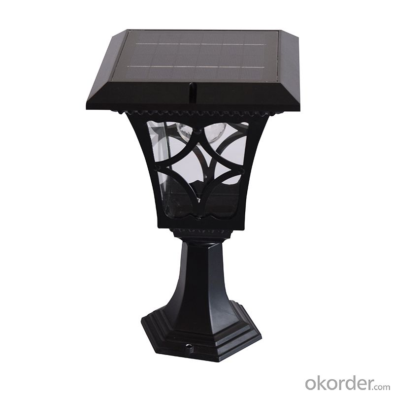 Garden Solar Lamp Post LED Solar Lamp Post Solar Fence Light Solar Post Lamp