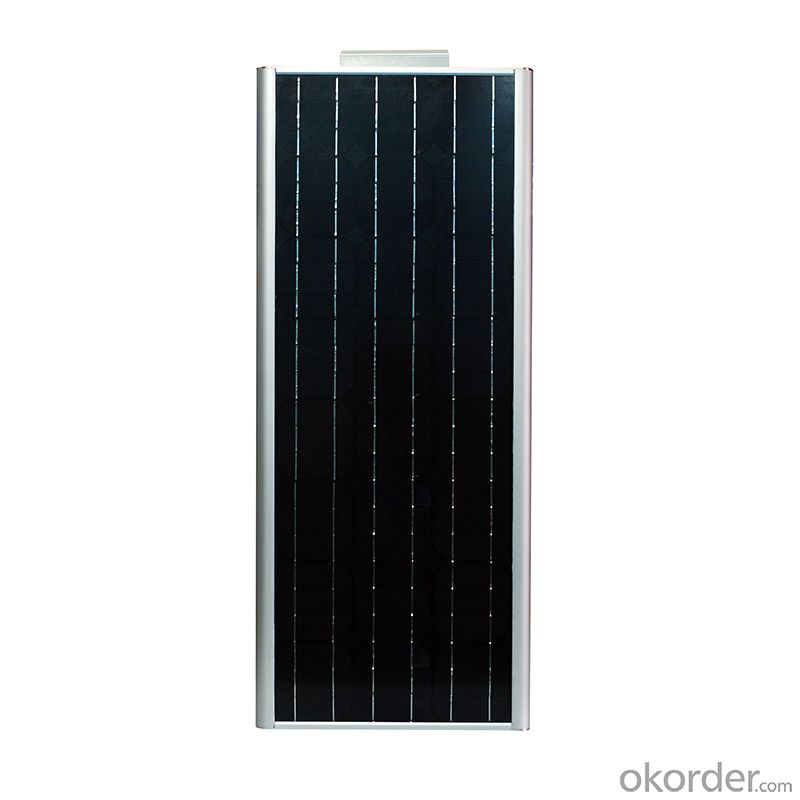 60W Integrated Solar Street Light and 50W Solar Compact Street Light