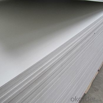 White PVC Foam Board for construction / Buiding materials/plastic sheet