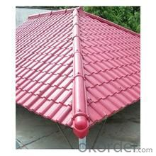 Environmental protection synthetic resin tile self-cleaning performance