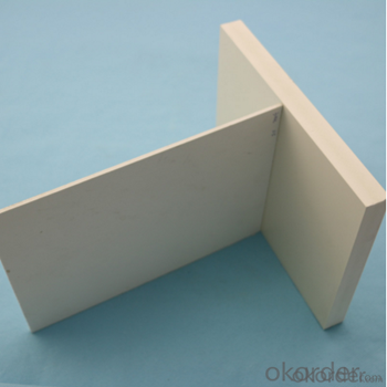 PVC Cabinet Foam Sheet Good Plasticity Being An Excellent Thermoform Material