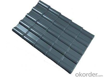 Stable performance of resin tile, waterproof