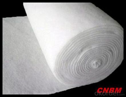 500g woven Geotextile Road Building Constructive Felt Fabric