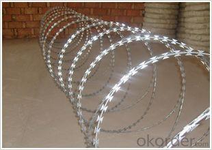 Galvanized Razor Barbed Wire / Barbed Wire