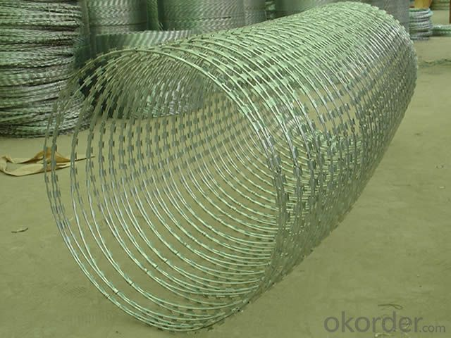 Hotsales Galvanized Razor Barbed Wire