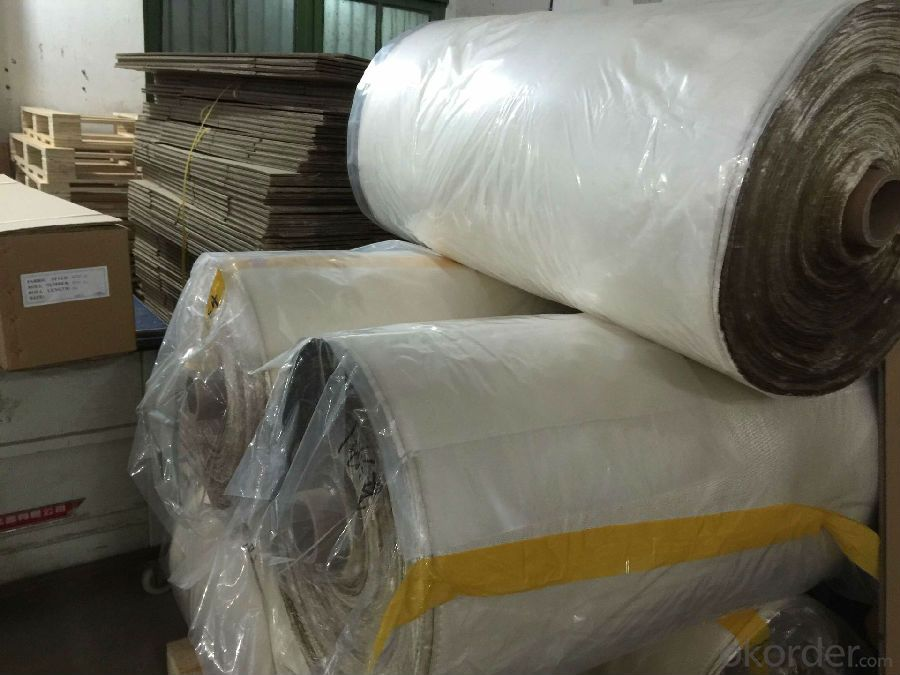 Buy 36oz Silica Fiberglass Cloth Resisting 1000c For Heat