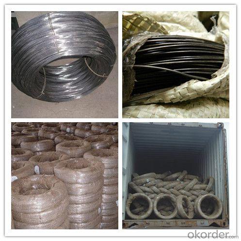 China Supplier Soft Tie Wire Black Annealed Iron Wire