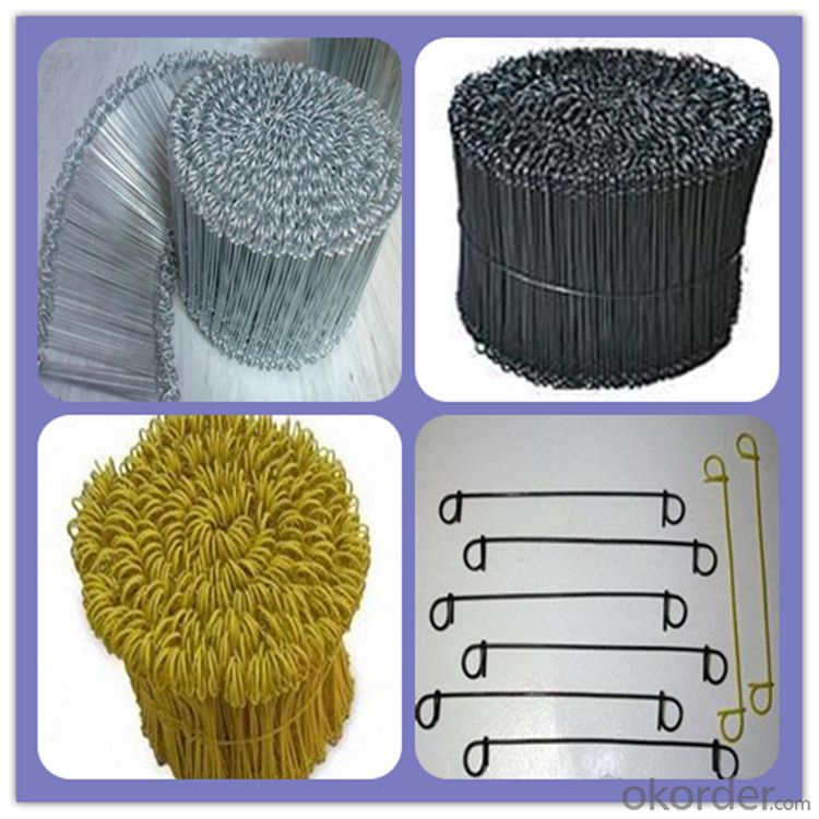 High Quality Double Loop Tie Wire From China Supplier