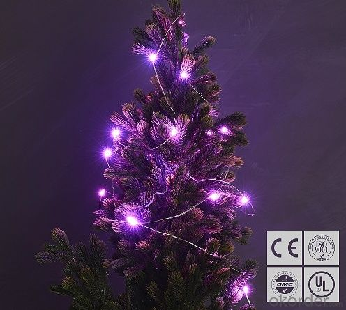 Buy Pink Fairy Light Flexible Led Mini Copper Wire String Lights Led Christmas Lights Price,Size ...