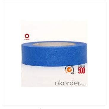 Do you know why the blue masking tape can stick