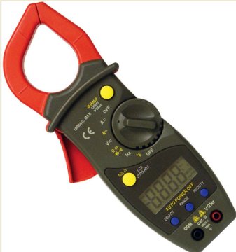 What is a clamp meter good for