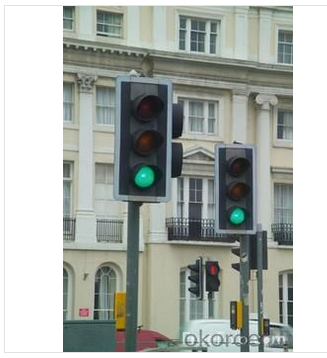 How does traffic light signal work