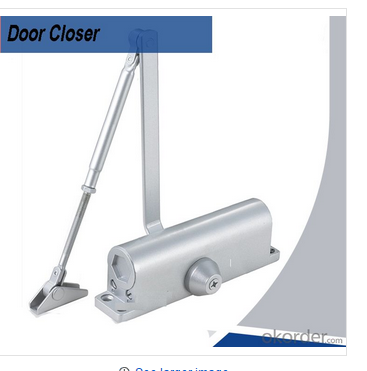 OKorder how to adjust a door closer