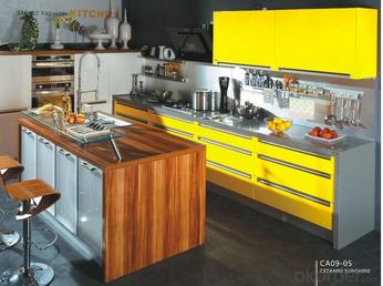 OKorder Fashion trend of kitchen design for industrial kitchen supplies