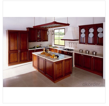 OKorder how to sand kitchen cabinets