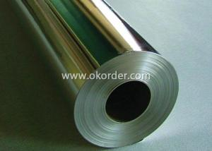 Metallized PET Film Thickness 35 - 40 Micron