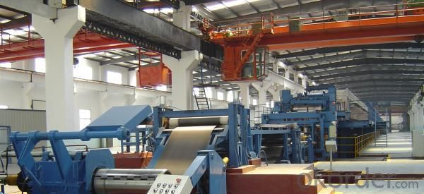 Steel Strip Electro Chromium Line
