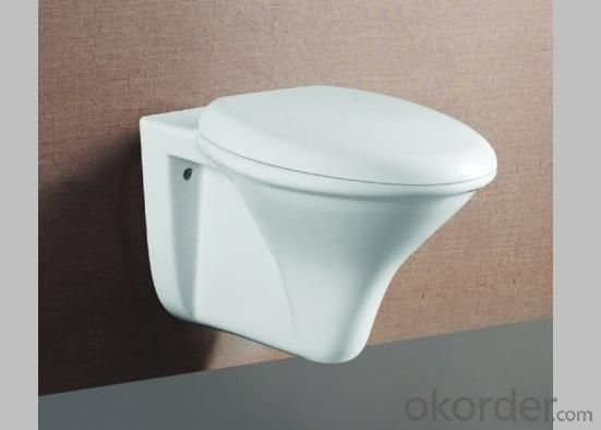 Hot Sale Economical and Good Price Wall Hung Toilet Bathroom Ceramic Toilet Model 0025 Wall-hung Toilet