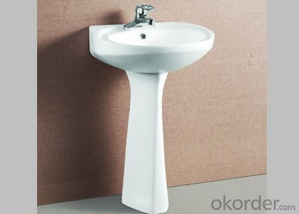 075 Pedestal Washbasin