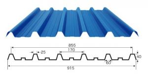 UPVC Roofing Sheet with Different Colors
