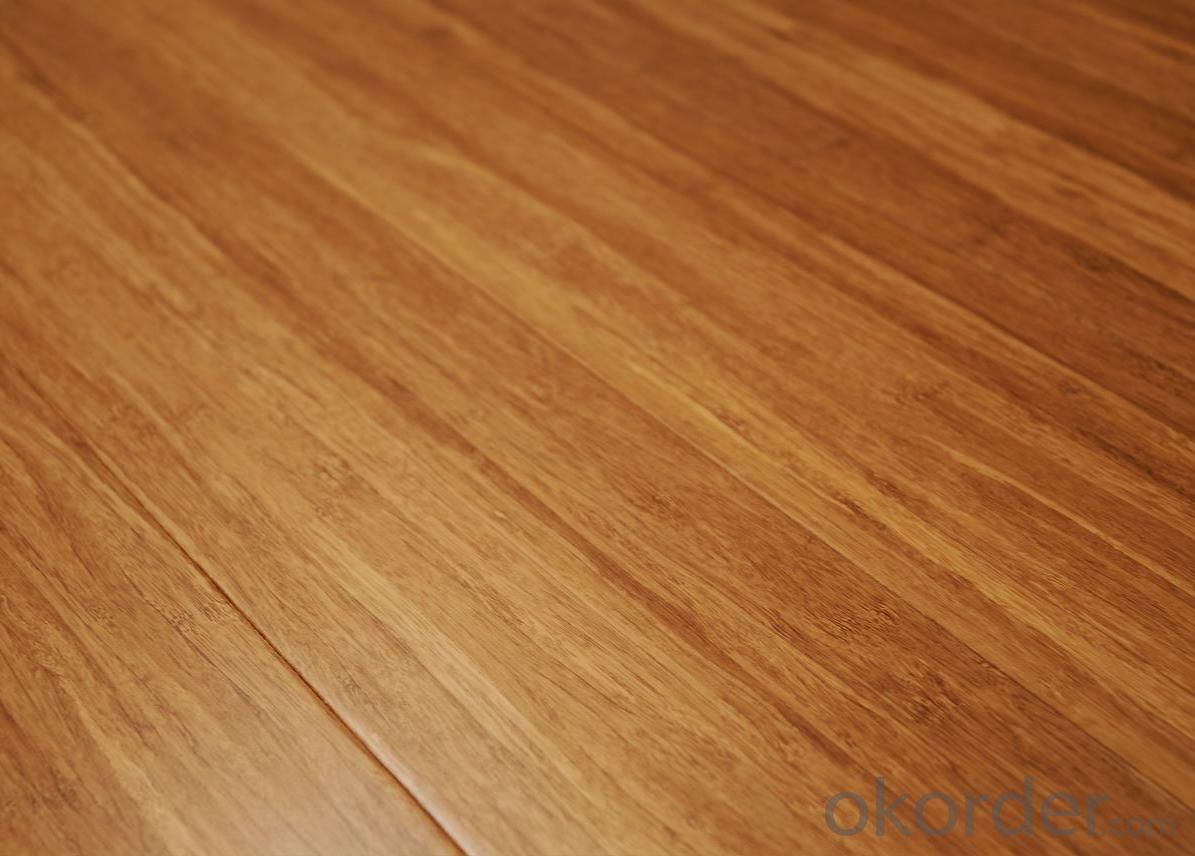 Strand Woven Carbonized Bamboo Flooring