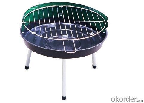 Simple Round BBQ Grill--SRAR1404