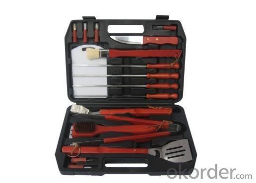 BBQ Tool Set--TS17N
