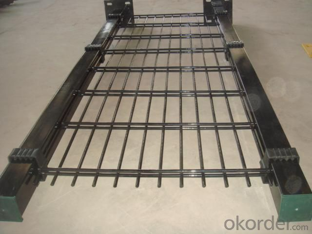 Double Wire Mesh Fence with Powder Coated