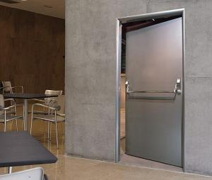 Galvanized Sheets Fire Door