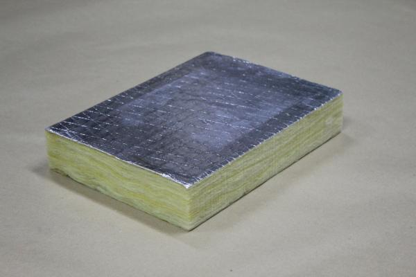 Buy glass wool board insulation with fsk face price size for Glass fiber board insulation