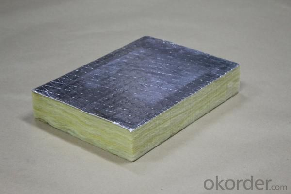 Glass Wool Board Insulation with FSK Face