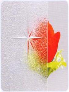 Patterned Glass-Galaxy