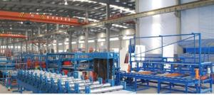 Low Pressure Continuous Sandwich Panel Production Line