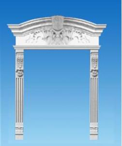 GRC Window Frame Mould For European Style Decoration