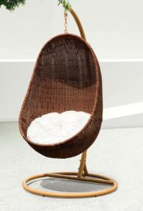 Steel Rattan Swing Chair - Hanging Chair