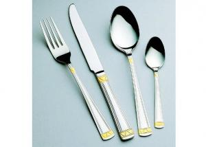 Simple And Delicate Stainless Steel Flatware Set