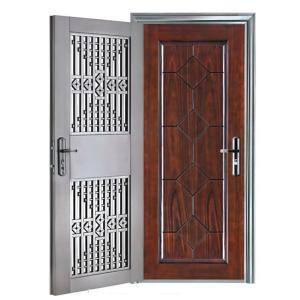 Composited Door with Oriented Structure