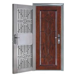 Composited Door with Oriented Structure