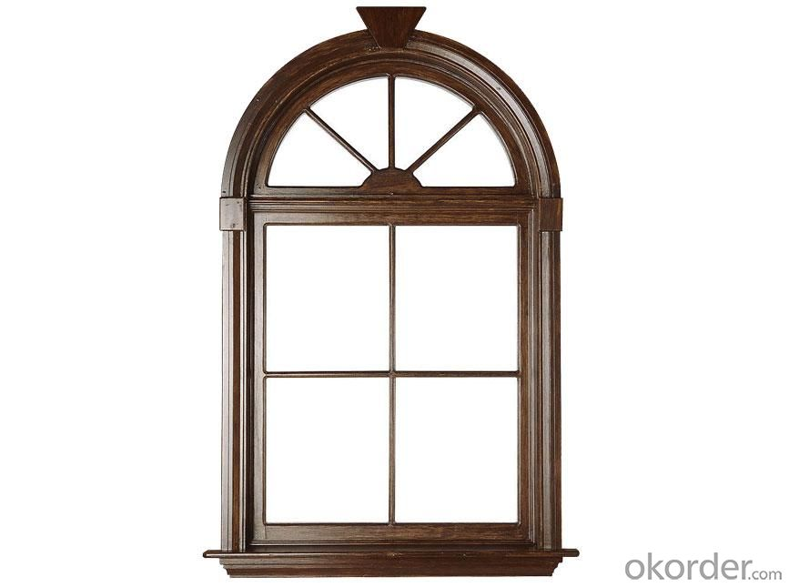 Wooden Window for  Domestic Room