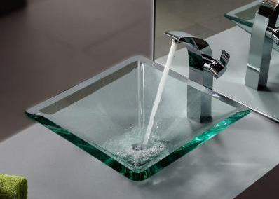 GN002 Glass Vessel Sink