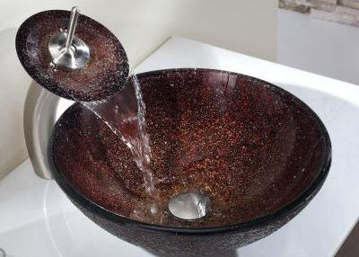 PN007 Glass Vessel Sink